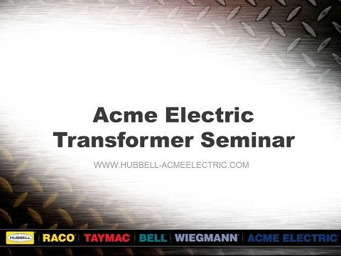 Transformer Seminar Buck Boost Transformers YouTube