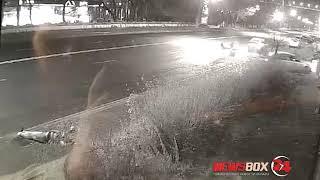 Страшное ДТП с погибшим пешеходом на улице Светланской попало на видео