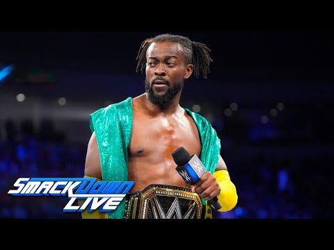 Kofi Kingston promises to never quit: SmackDown LIVE, June 4, 2019