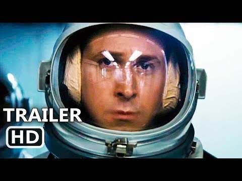 FIRST MAN Official Trailer (2018) Ryan Gosling, Claire Foy Movie HD