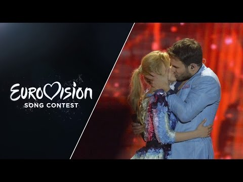 Monika Linkytė and Vaidas Baumila - This Time (Lithuania) - LIVE at Eurovision 2015: Semi-Final 2