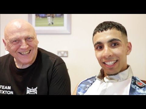INTRODUCING SHABAZ MASOUD AFTTER HIS 3rd ROUND KO WIN ON PROFESSIONAL DEBUT - / SEXTON v FURY