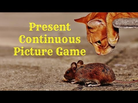 PRESENT CONTINUOUS PICTURE GAME