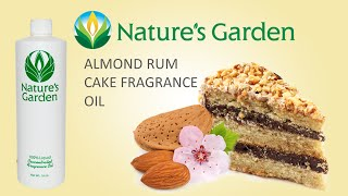 Almond Rum Cake Fragrance Oil - Nature's Garden