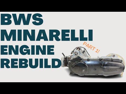Yamaha BWS Engine Rebuild And Tune Part #1