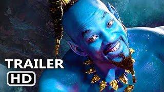 ALADDIN Trailer # 2 (NEW 2019) Will Smith, Disney Movie HD