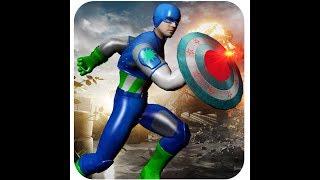 Captain USA Super hero Avenger Battle (GamePlay Android/IOS)