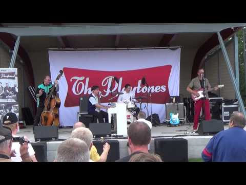 Great balls of fire - The king - Dagny - Wild one - The Playtones i Tranås 8 augusti 2015