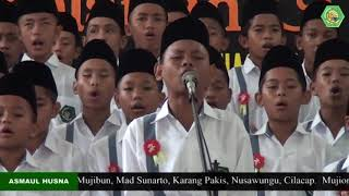 Download lagu Asmaul Husna Putra Khataman dan Haul Pondok Pesantren Al Huda Jetis tahun 2015 MP3