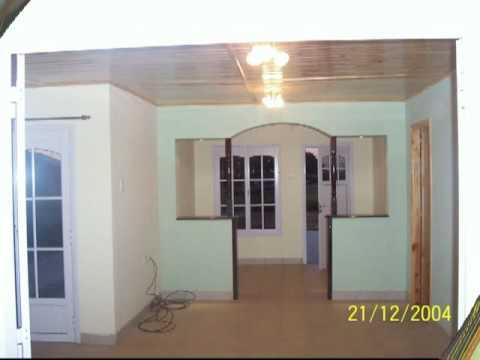 Viviendas prefabricadas de construcci n mixta casur exteriores e interiores youtube - Interiores de casas prefabricadas ...