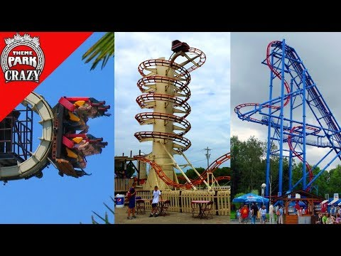 Top 10 BIZARRE Roller Coasters