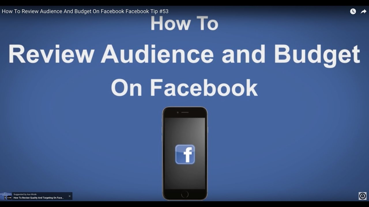 how to delete audience on facebook