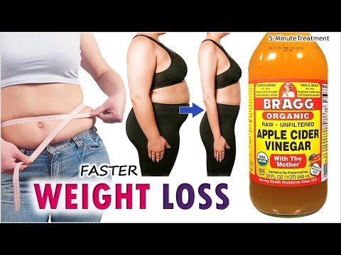 Drink Apple Cider Vinegar To Lose Weight Faster | Baking Soda | 5-Minute Treatment