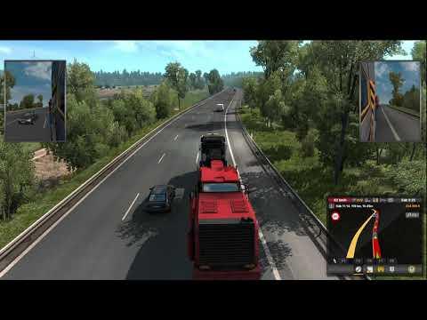 #ETS2 Español Dortmund Hannover ASFALTADORA Heavy Transport