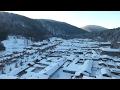 在中国东北 有个全年下雪七个月的神奇小镇