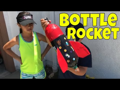 How To Make A Bottle Rocket DIY 2 Litter Water Bottle Rocket