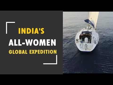 India's first all women global circumnavigation expedition returns to Indian waters