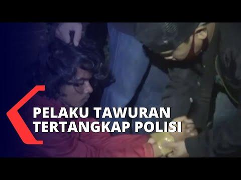 Tertangkap! Akibat Terlibat Tawuran, Sekelompok Remaja Diamankan Polisi