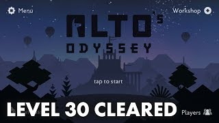 Alto's Odyssey - Level 30 Goals and Walkthrough