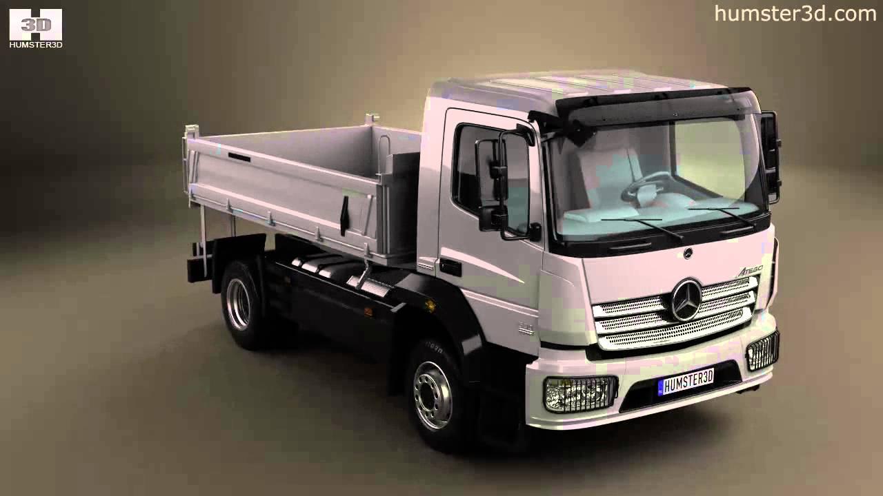 Mercedes benz atego tipper truck 2013 by 3d model store for Mercedes benz truck models
