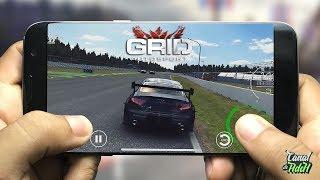 GRID AUTOSPORT MOBILE, FINALMENTE CONFERINDO O GAME, DUBLADO EM (PT-BR)