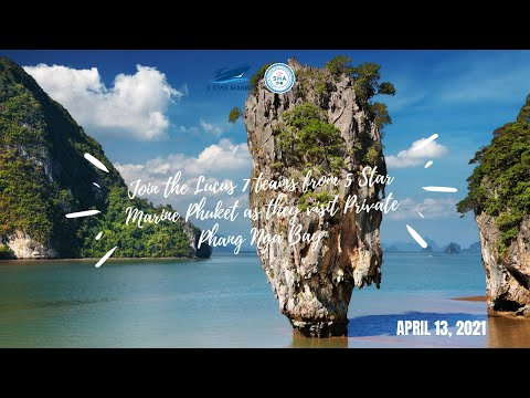 Private Boat Tour To Private Phang Nga Bay | April 13, 2021