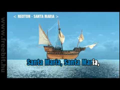 Neoton - Santa Maria - Karaoke