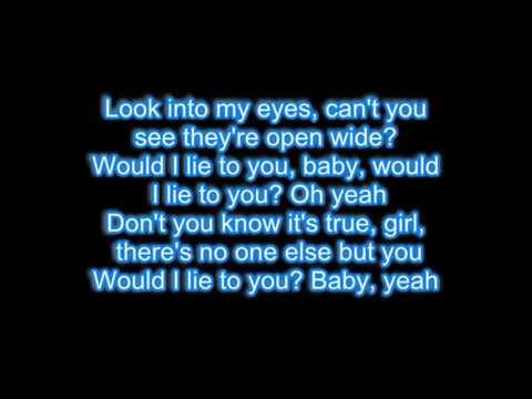 David Guetta - Would I Lie To You Lyrics
