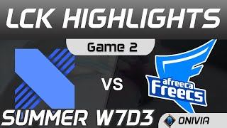 DRX vs AF Highlights Game 2 LCK Summer Season 2020 W7D3 DragonX vs Afreeca Freecs by Onivia