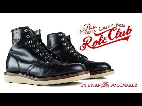 Chippewa Lace Up Boots Resole #12