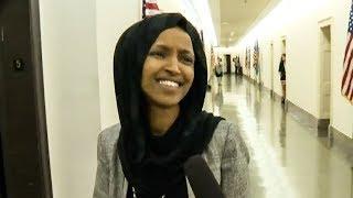 Ilhan Omar Slams Fox News Ambush Reporter