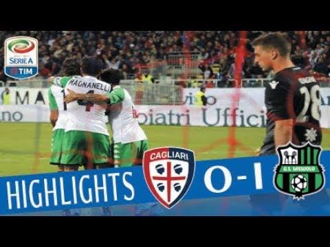 Cagliari - Sassuolo 0-1 - Highlights - Giornata 5 - Serie A TIM 2017/18