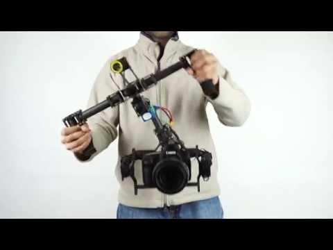 DYS 3-Axis Brushless Hand-Held Gimbal for DSLR with Follow Mode