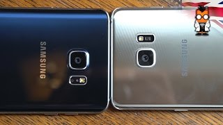 Samsung Galaxy Note7 vs Galaxy Note5 - Hands On