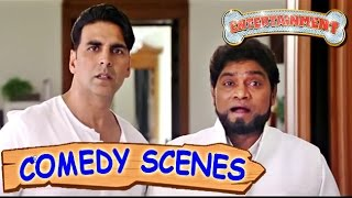 Akshay Kumar & Johnny Lever Funny Scene- Comedy Scenes | Entertainment | Hindi Film