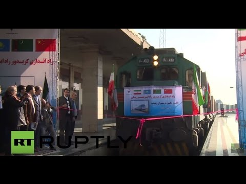 iran first chinese train arrives in tehran as part of new silk road initiative