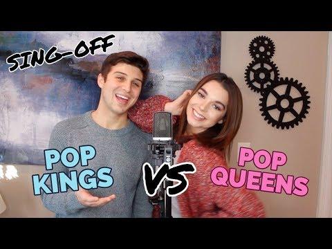 Pop Kings vs. Pop Queens SING-OFF!