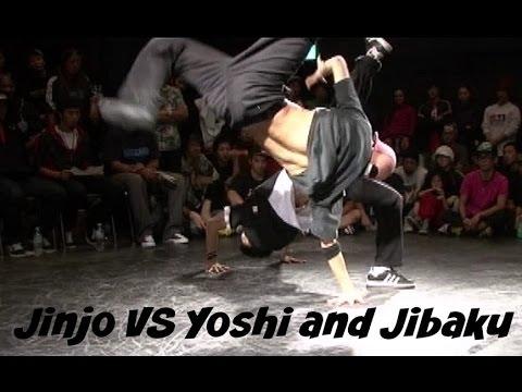 Korea (Jinjo crew) vs Japan (Bboy Yoshi and Jibaku). Throwback Friday