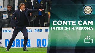 CONTE CAM | INTER 2-1 HELLAS VERONA 📹⚫🔵