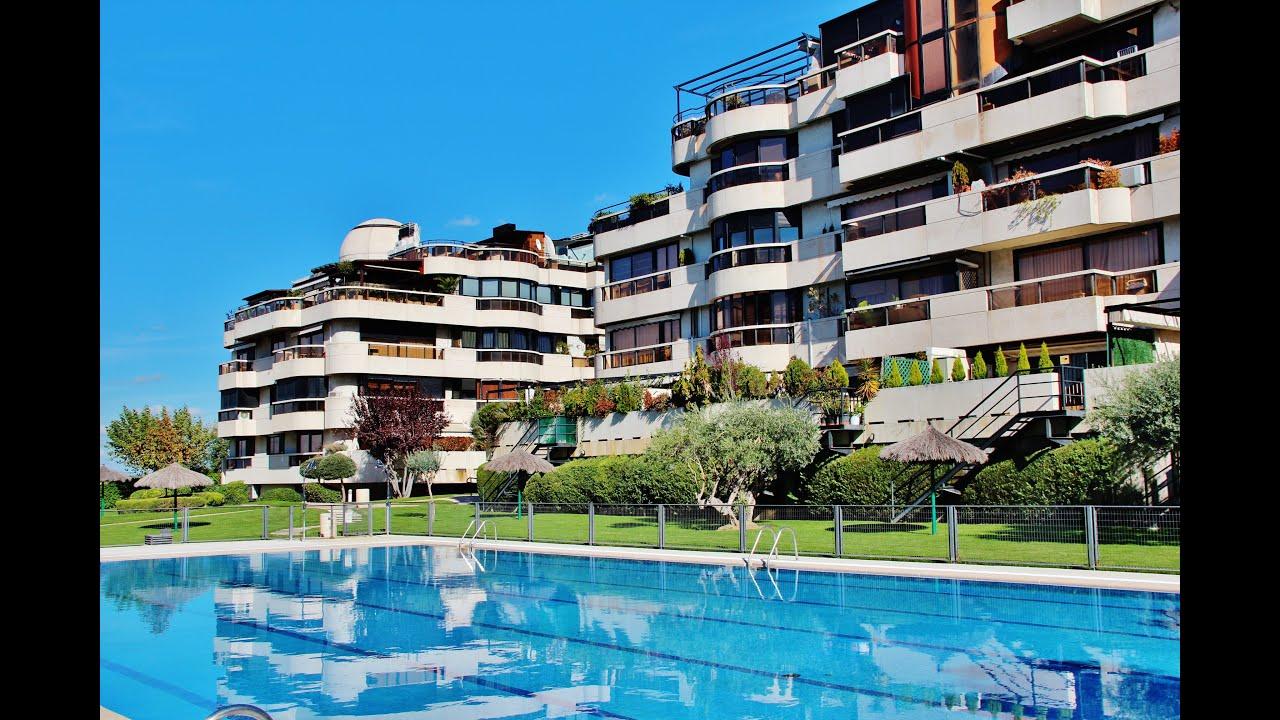 Piso dise o lujo terrazas de aravaca madrid youtube for Pisos en delicias madrid
