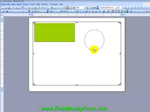 Create Kids Play Money Templates Using Word - PART 1 - YouTube
