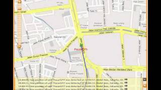Online GPS Tracking Using GPS Tracker TK102-2 by PasarGPS.com