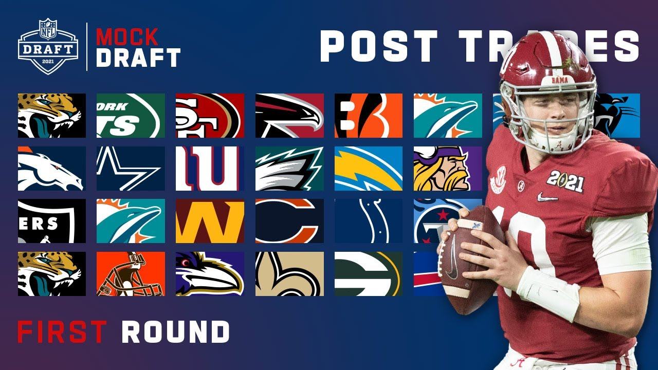 Download Full 1st Round NFL Mock Draft Updated with Trades!