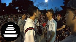 MIDEL FRIJO vs ECKO DAM - 4tos (2VS2 - 27 / 11) - El Quinto Escalon