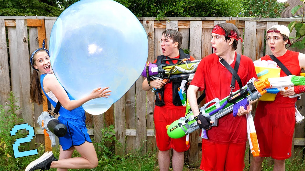 Download If Water Fights Were Like Video Games