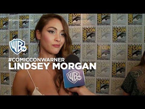 ComicConWarner  The100: Lindsey Morgan