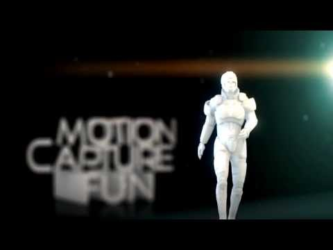 Playing with motion capture (Blender 2 64) - Видео с YouTube на