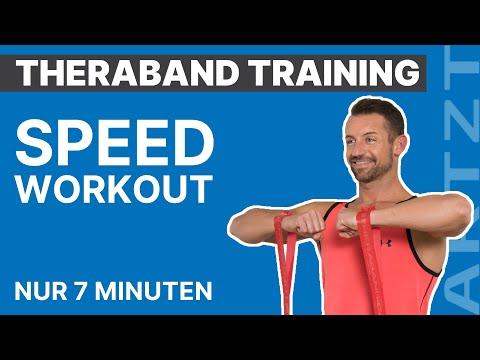 TheraBand Speed-Workout: 7 Minuten Ganzkörpertraining mit dem TheraBand CLX | ARTZT