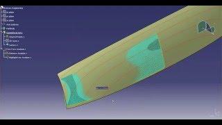 Catia V5 | Catia V6: Class A - Creating a Deck Lid Step 1