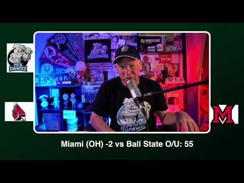 Miami OH vs Ball State Free College Football Picks and Predictions CFB Tips Wednesday 11/4/20